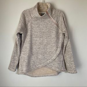 🌟Athleta Cozy Karma Asymmetrical Pullover 🌟